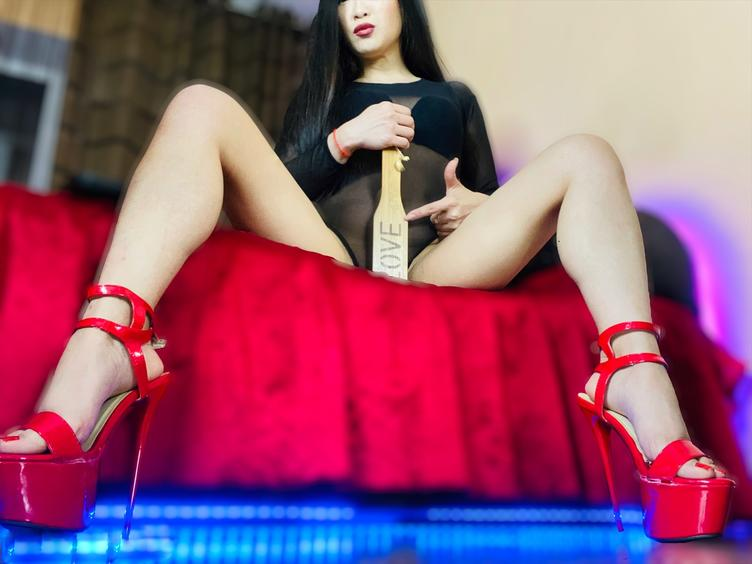 Non sexual Mistress! I do not provide vanilla`s sessions. No masturbation, no naked!  During the session you are not allowed to do anything without asking my permission first and receiving this permission. Once after you step into BDSM room you body, mind, thoughts , needs and desires become all Mine. I will decide what you are gonna take and how much you are gonna take. Also how we are gonna go. Or when you can take a break and do you need one. You are there as my toy and I will enjoy the game as much as I want. I can give you an incredible amount of pain and pleasure. What it is gonna be it`s up to you. I will give you some orders during the session, if you can fullfill them I reward you. If you fail, if you disapoint me, if you disrecpect me, I will punish you. It`s easy. I like to play variety games to find where your bondaries are. Once after I find them, I would like to cross them all. To break your mind, using your body.  BOOT/SHOE/FOOT/NYLON WORSHIP  Let yourself be enraptured by the smallest most perfect feet. A size 35. Mistress� feet are tiny and delicate and true objects of worship. With an extensive collection of shoes and boots, and always happy to be gifted more, get on your knees and serve your Mistress as She gazes at you with Her deep dark eyes.