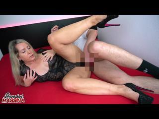Oralsex, Blond, Dessous, Doggystyle, Userfick, Ficken